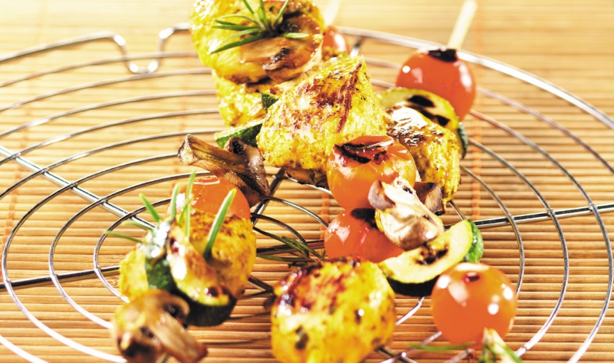 Marinated Chicken Brochettes